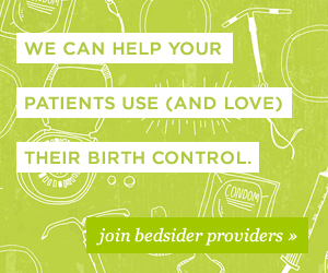 Join bedsider providers